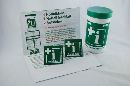 Kleiner Runder Kühlschrank : Notfalldose u ein kleiner helfer für ihre sicherheit u freiwillige